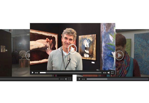 Témoignages vidéo visuel
