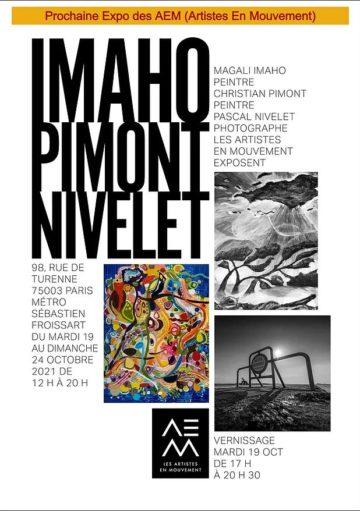 Invit Expo le 19 Oct 21 rue de Turenne